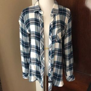 Rails Plaid Buttondown M